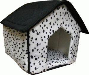 Мягкий домик для собаки