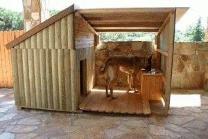 Деревянная будка